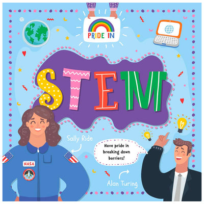 Pride In STEM (Science, Technology, Engineering & Math) Book