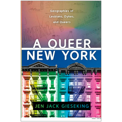 A Queer New York - Geographies of Lesbians, Dykes, and Queers Book