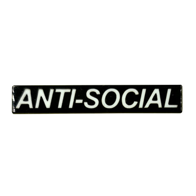 Anti Social Enamel Pin