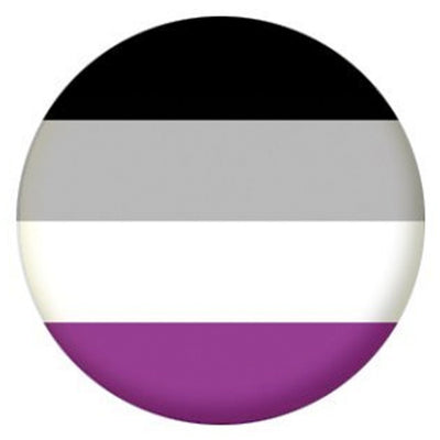 Asexual Pride Small Pin Badge