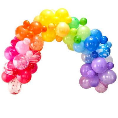 Gay Pride Rainbow Balloon Arch Kit