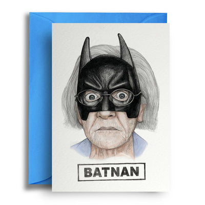 Batnan - Greetings Card