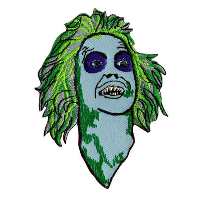 Beetlejuice Embroidered Iron-On Festival Patch