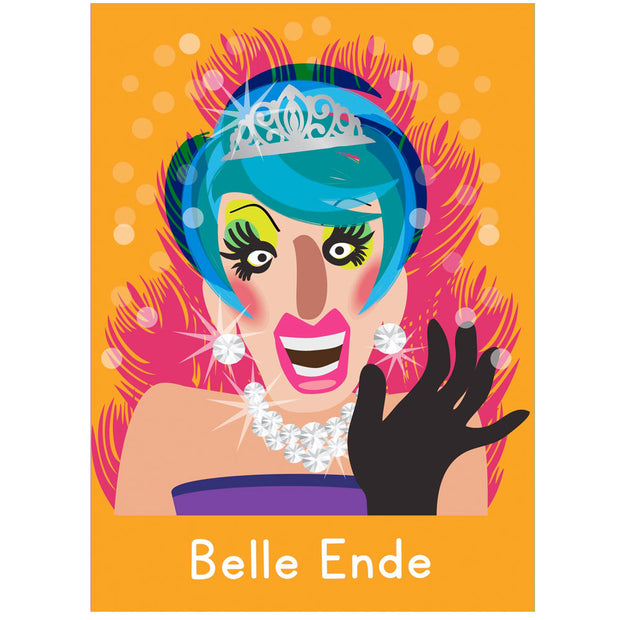 Life's A Drag - Belle Ende Greetings Card