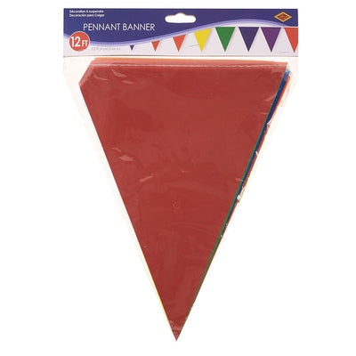 Gay Pride Rainbow Plastic Bunting (3.66m x 12 flags) 50707-RB