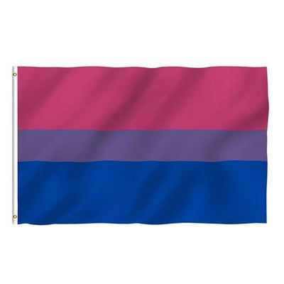 Bisexual Pride Flag (5ft x 3ft Standard)