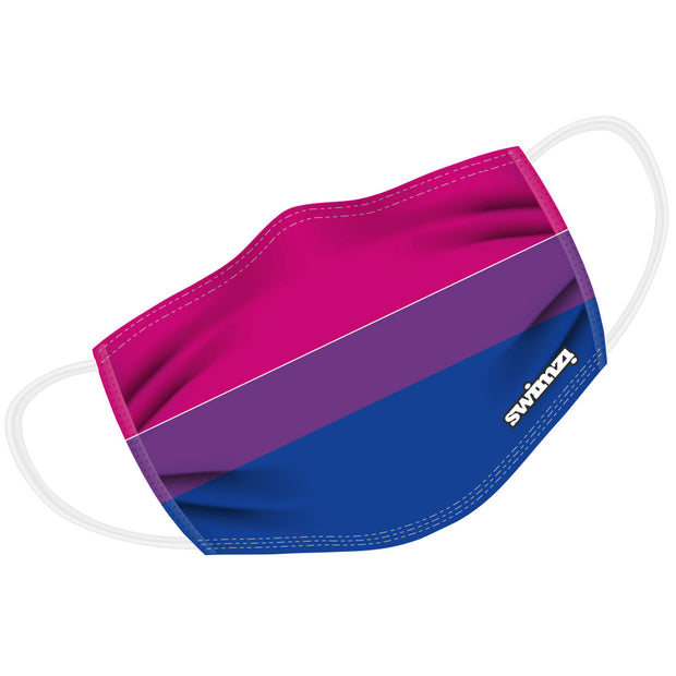 Bisexual Flag Twin Layer Face Mask