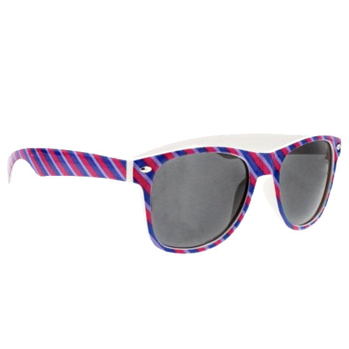 Bisexual Flag Colours Wayfarer UV400 Sunglasses