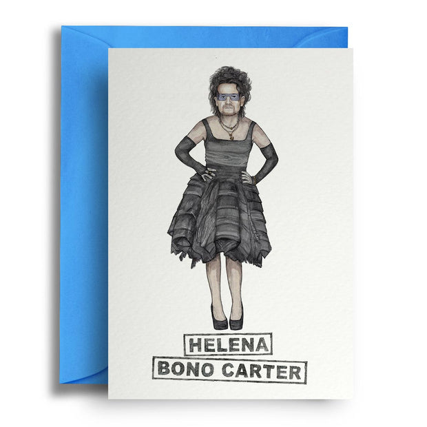 Helena Bono Carter - Greetings Card