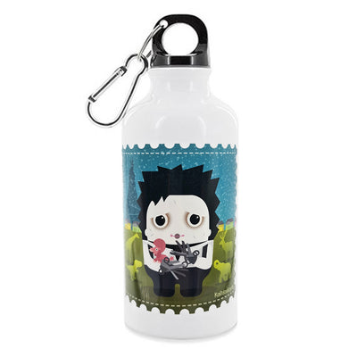 Aluminium Water Flask - Edward Scissorhands