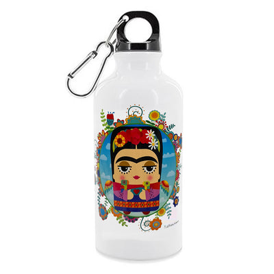 Aluminium Water Flask - Frida Kahlo