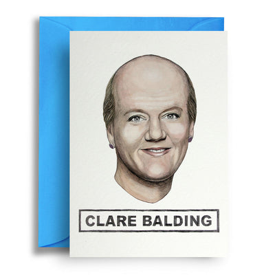 Clare Balding - Greetings Card