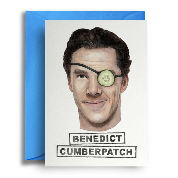 Benedict Cumberpatch - Greetings Card