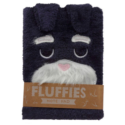 Fluffies Plush Animal A5 Notepad - Dog