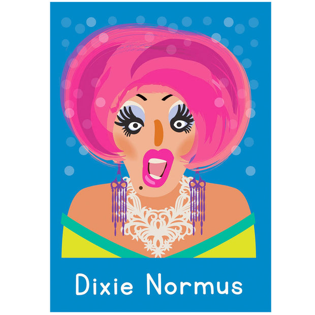 Life's A Drag - Dixie Normus Greetings Card