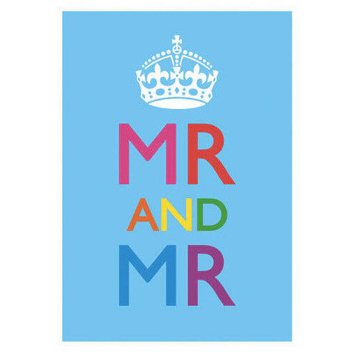 Mr And Mr Gay Wedding Card