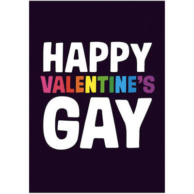 Happy Valentines Gay Valentines Card