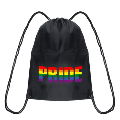 Drawstring Bag - Gay Pride Rainbow PRIDE