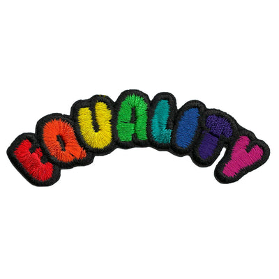 Equality Embroidered Iron-On Festival Patch
