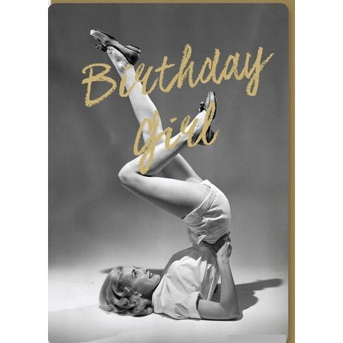 Birthday Girl Birthday Card