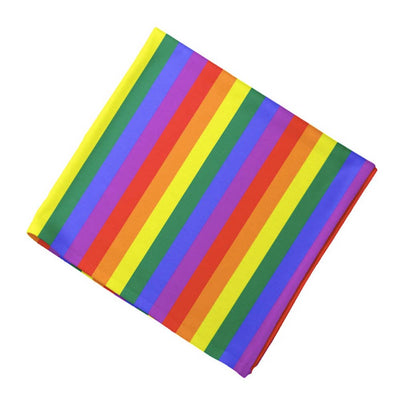 Gay Pride Rainbow Cotton Bandana
