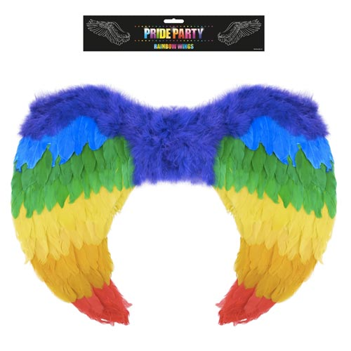 Gay Pride Rainbow Foldable Angel Wings