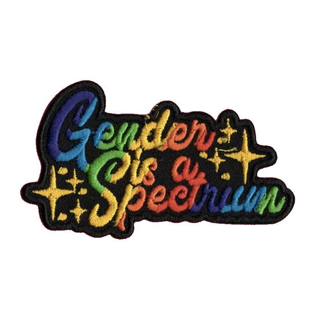 Gender Is A Spectrum Iron-On Patch