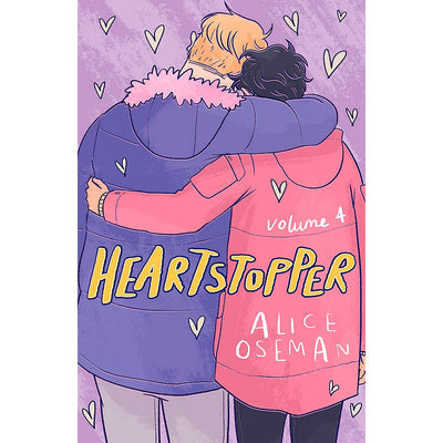 Heartstopper - Volume Four Book