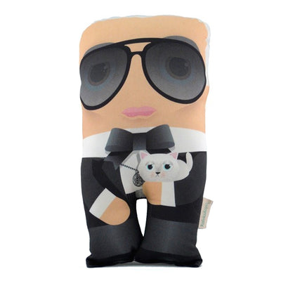 Hand Made Character Cushion - Karl Lagerfeld