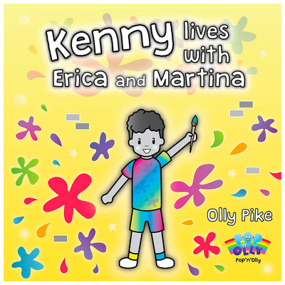 Kenny Lives With Erica And Martina Book