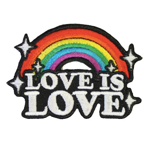 Love Is Love Embroidered Iron-On Patch