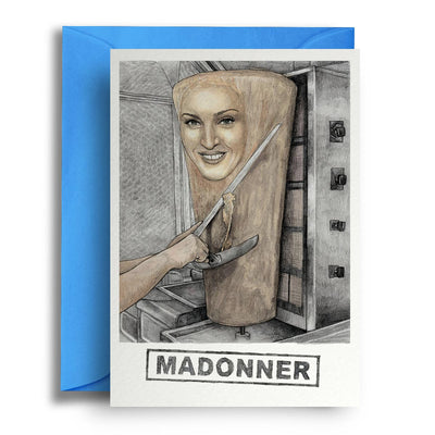Madonner - Greetings Card