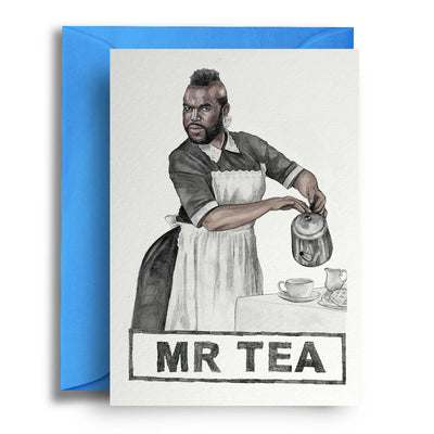 Mr Tea - Greetings Card