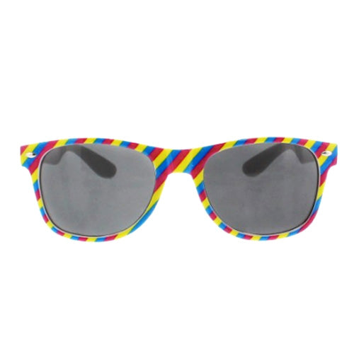 Pansexual Flag Colours Wayfarer UV400 Sunglasses