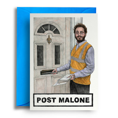 Post Malone - Greetings Card