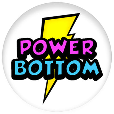 Position - Power Bottom Small Pin Badge