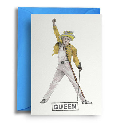 Queen - Greetings Card