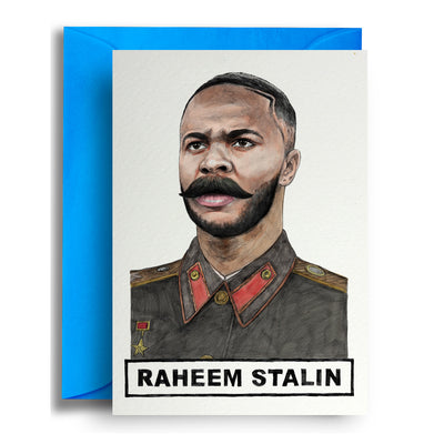 Raheem Stalin - Greetings Card