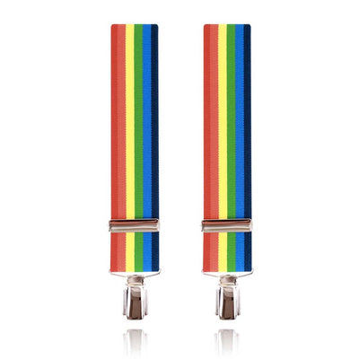 Gay Pride Rainbow Braces