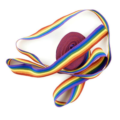 Gay Pride Rainbow Cloth Ribbon (5m)