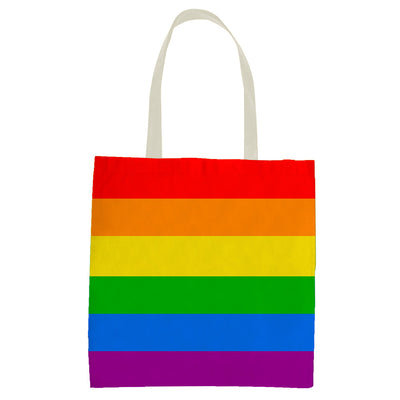 Gay Pride Rainbow Tote Bag