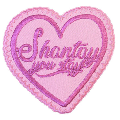 Rupaul Shantay You Stay Iron-On Festival Patch