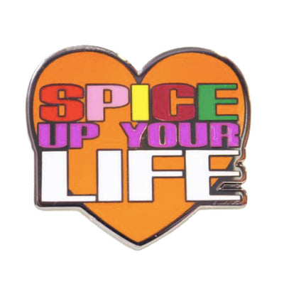 Spice Up Your Life Enamel Festival Pin