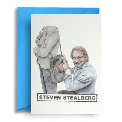 Steven Stealberg - Greetings Card