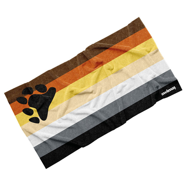 Luxury Cotton Towel - Bear Pride