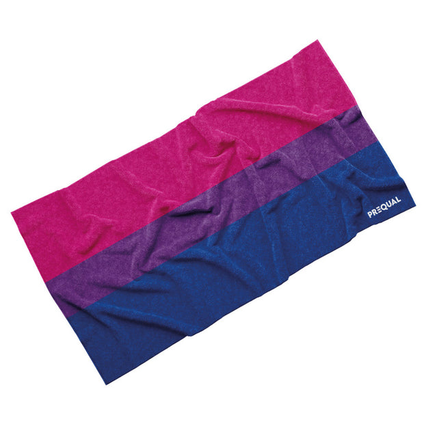 Luxury Cotton Towel - Bisexual Pride