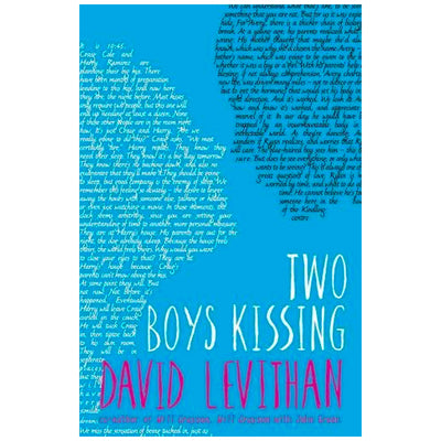 Two Boys Kissing Book