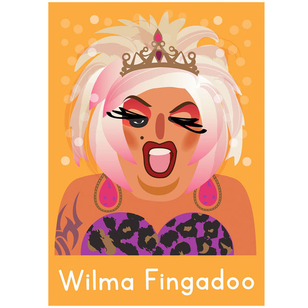 Life's A Drag - Wilma Fingadoo Greetings Card