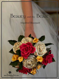 What I've Been Working On - Beauty and the Beast Inspired Bouquet
