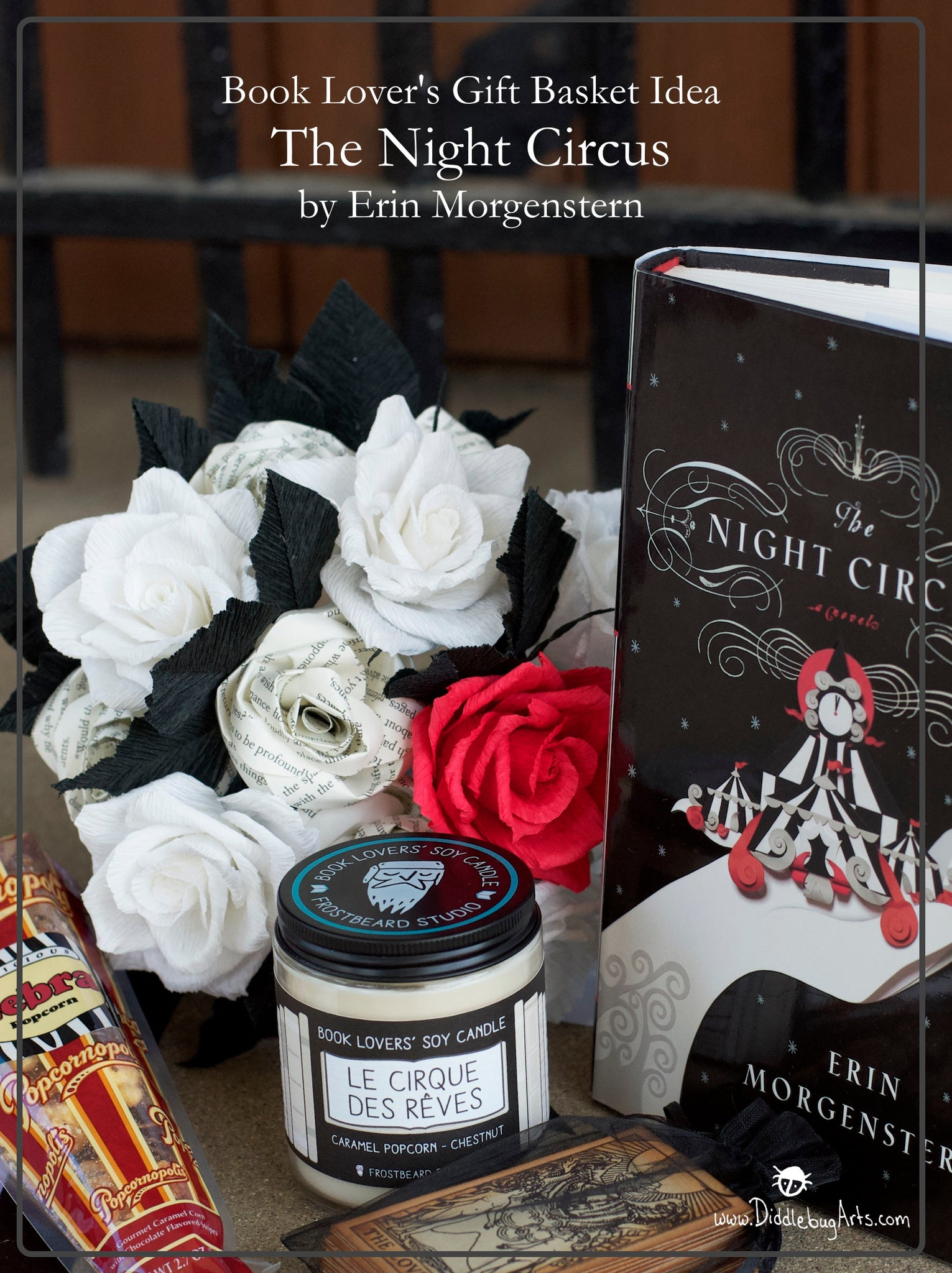 Literature Themed Gift Basket Idea- The Night Circus